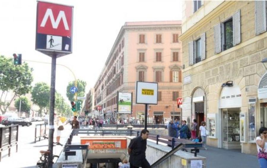 Roma falso allarme bomba tra termini e ottaviano san pietro for Affitto roma ottaviano