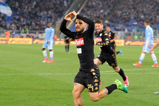 Il Napoli vince all Olimpico contro la Lazio per 3 reti a 0 Callejon e  doppietta di Insigne. 3° posto blindato 554198820164