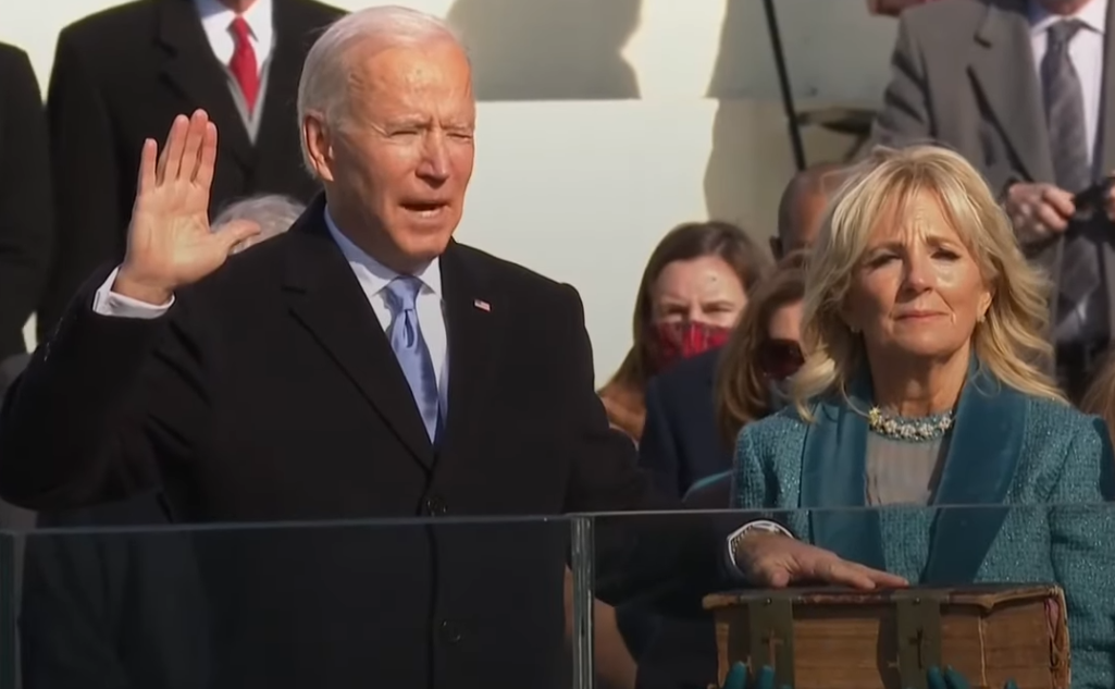 Washington DC - Joe Biden giura da 46° Presidente